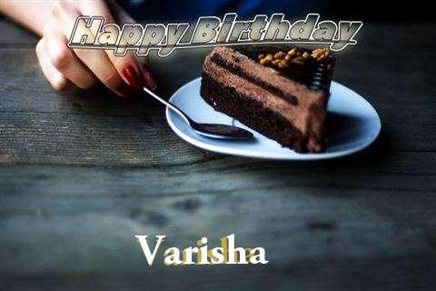 Birthday Wishes with Images of Varisha