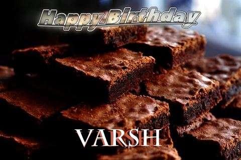Birthday Images for Varsh