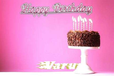 Happy Birthday Cake for Varun