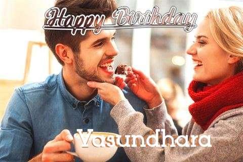 Happy Birthday Vasundhara Cake Image