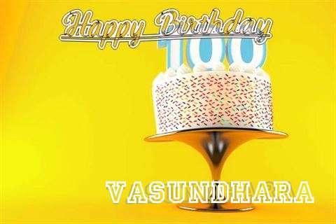 Happy Birthday Wishes for Vasundhara