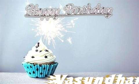 Happy Birthday to You Vasundhara