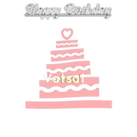 Happy Birthday Vatsal Cake Image