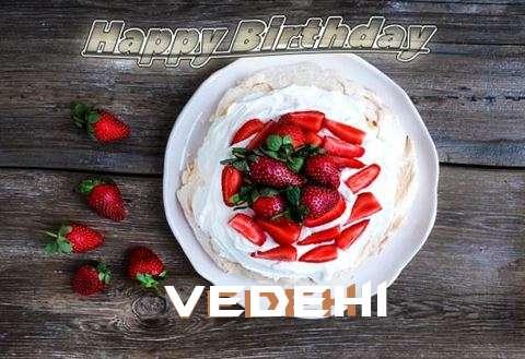Happy Birthday Vedehi Cake Image