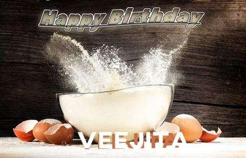 Happy Birthday Cake for Veejita