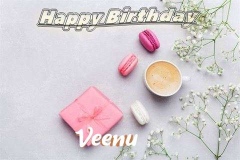 Happy Birthday Veenu Cake Image
