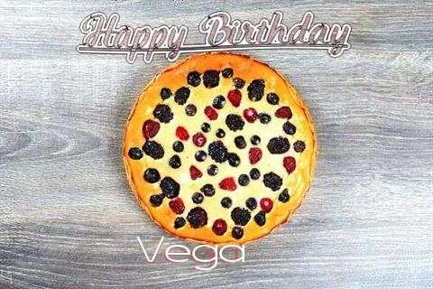 Happy Birthday Cake for Vega