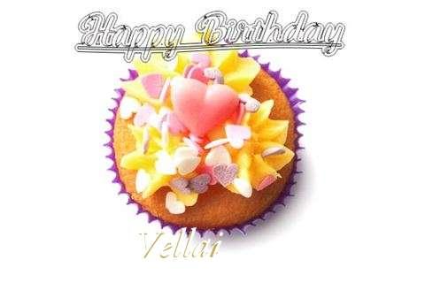 Happy Birthday Vellai Cake Image