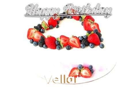 Happy Birthday Cake for Vellai
