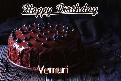 Happy Birthday Cake for Vemuri