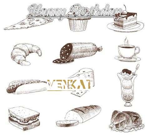 Happy Birthday Cake for Venkat