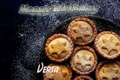 Happy Birthday Wishes for Versa