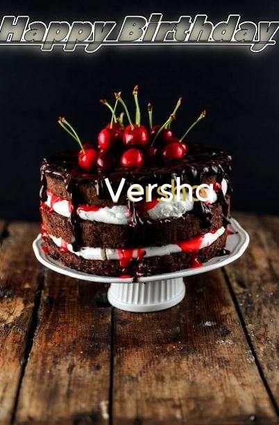 Happy Birthday Versha