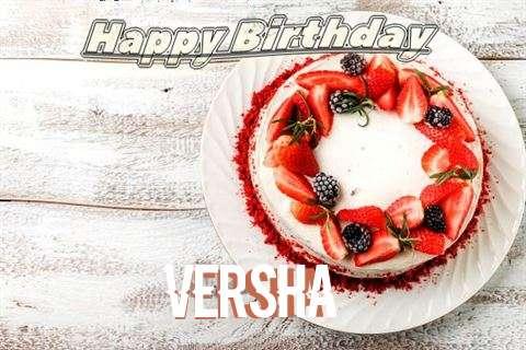 Happy Birthday to You Versha