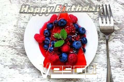 Happy Birthday Cake for Vesali