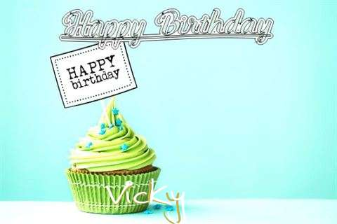 Happy Birthday to You Vicky