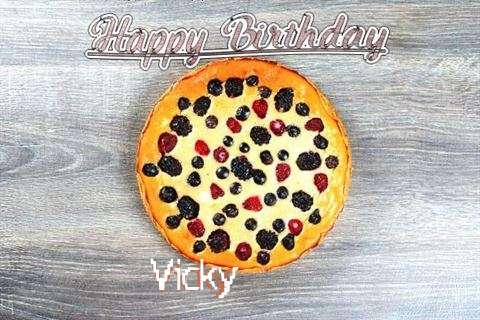 Happy Birthday Cake for Vicky