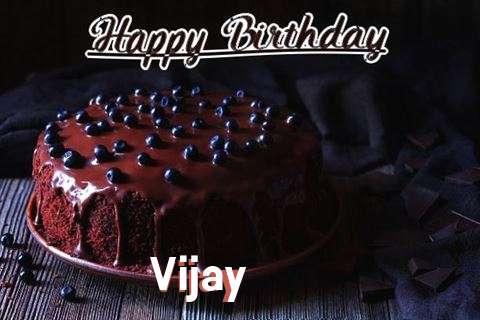 Happy Birthday Cake for Vijay