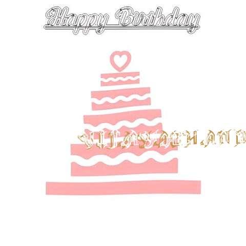Happy Birthday Vijayachander Cake Image