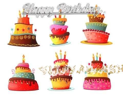 Happy Birthday to You Vijayalakshmi