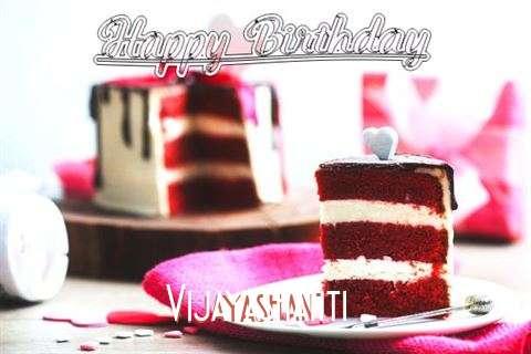 Happy Birthday Wishes for Vijayashanti