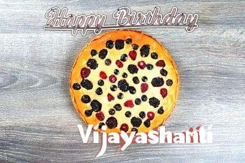 Happy Birthday Cake for Vijayashanti