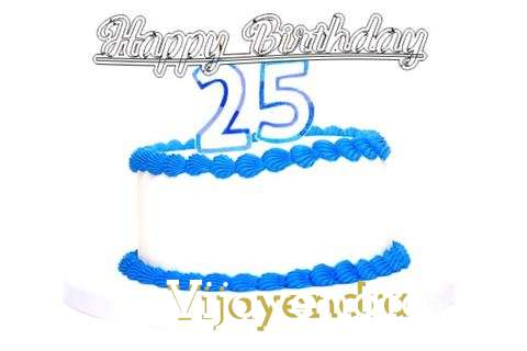Happy Birthday Vijayendra Cake Image