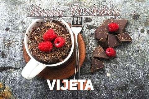 Happy Birthday Wishes for Vijeta