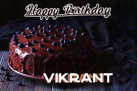Happy Birthday Cake for Vikrant