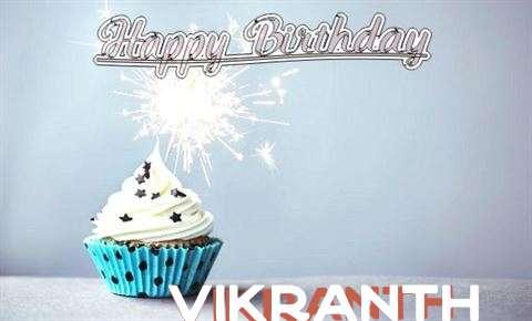Happy Birthday to You Vikranth