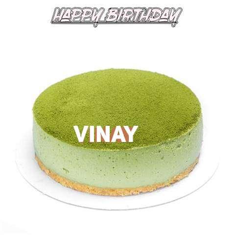 Happy Birthday Cake for Vinay