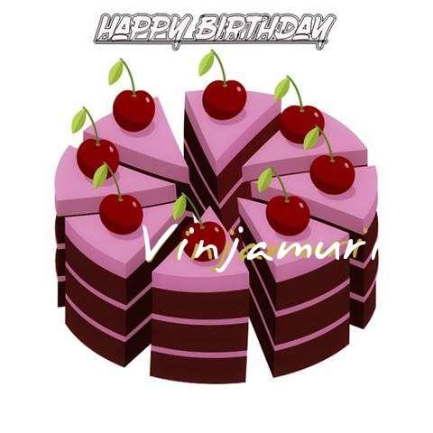 Happy Birthday Cake for Vinjamuri