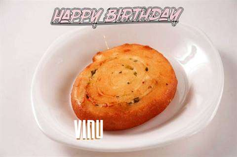 Happy Birthday Cake for Vinu