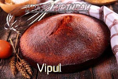Happy Birthday Vipul Cake Image