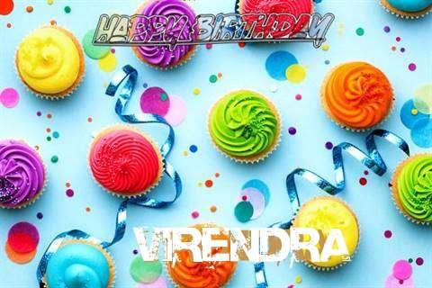 Happy Birthday Cake for Virendra
