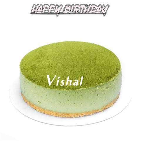 Happy Birthday Cake for Vishal