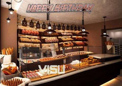 Birthday Wishes with Images of Visu