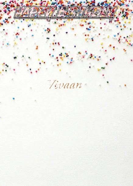 Happy Birthday Vivaan