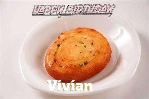 Happy Birthday Cake for Vivian