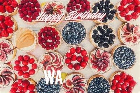 Happy Birthday Wa Cake Image