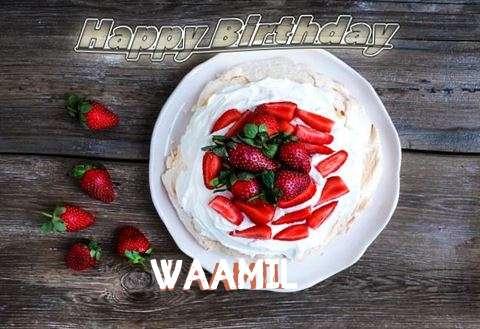 Happy Birthday Waamil Cake Image