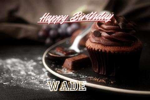 Happy Birthday Cake for Wade