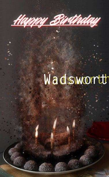 Happy Birthday Wadsworth