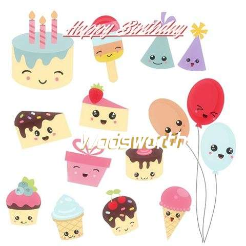 Happy Birthday Cake for Wadsworth