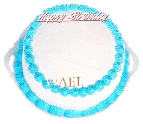 Happy Birthday Cake for Wael