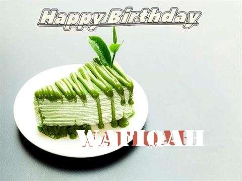 Happy Birthday Wafiqah
