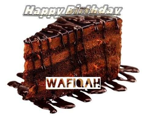 Happy Birthday to You Wafiqah