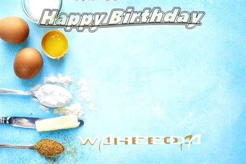 Happy Birthday Cake for Waheeda