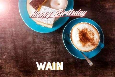 Happy Birthday to You Wain