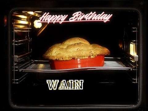 Happy Birthday Cake for Wain